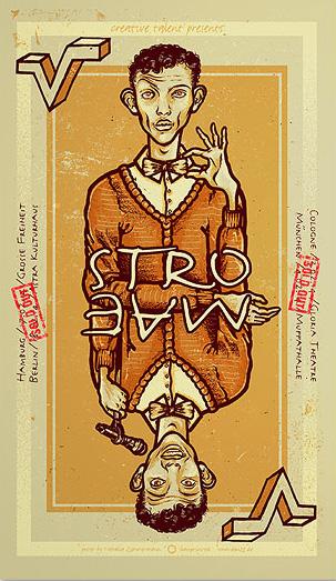 Douze STROMAE    urban art gallery buy street art screenprint poster art of rock