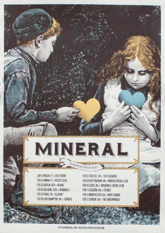 Xavi Forné, urban art gallery buy street art screenprint poster art of rock Mineral