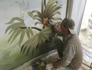 Christoph Bauer Malerei
