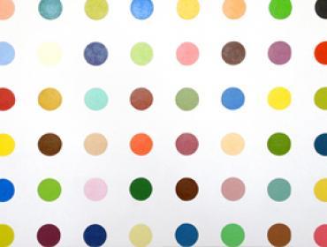 Damian Hirst contemporary art buy print young british artist