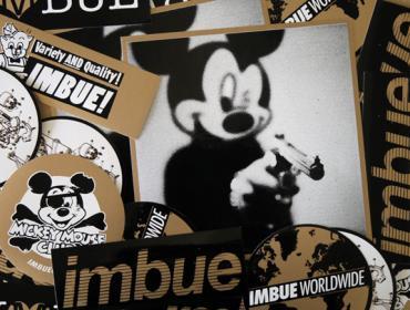 Imbue urban art gallery buy street art screenprint poster