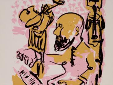Markus Lüpertz contemporary art buy art print