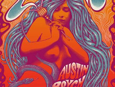Mishka Westel psychodelic art art of rock rock poster