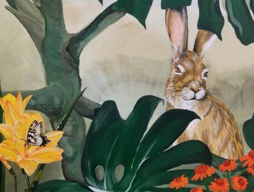 Wandmalerei Hanau